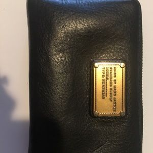 Marc by Marc Jacobs wallet- Black Leather